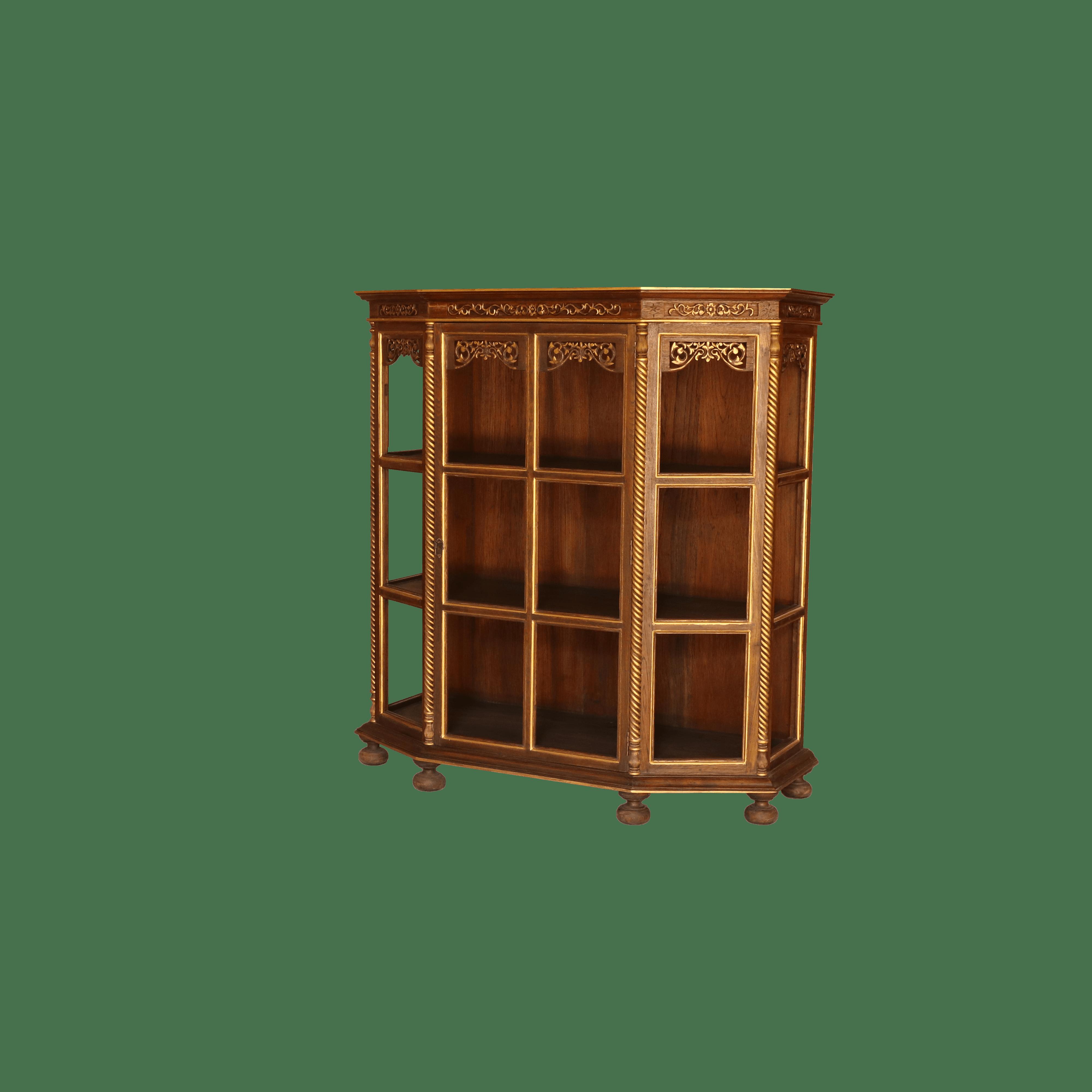 ตู้โบราณ (ปัดทอง)