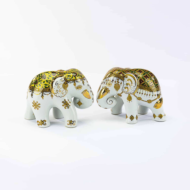 ช้างเบญจรงค์