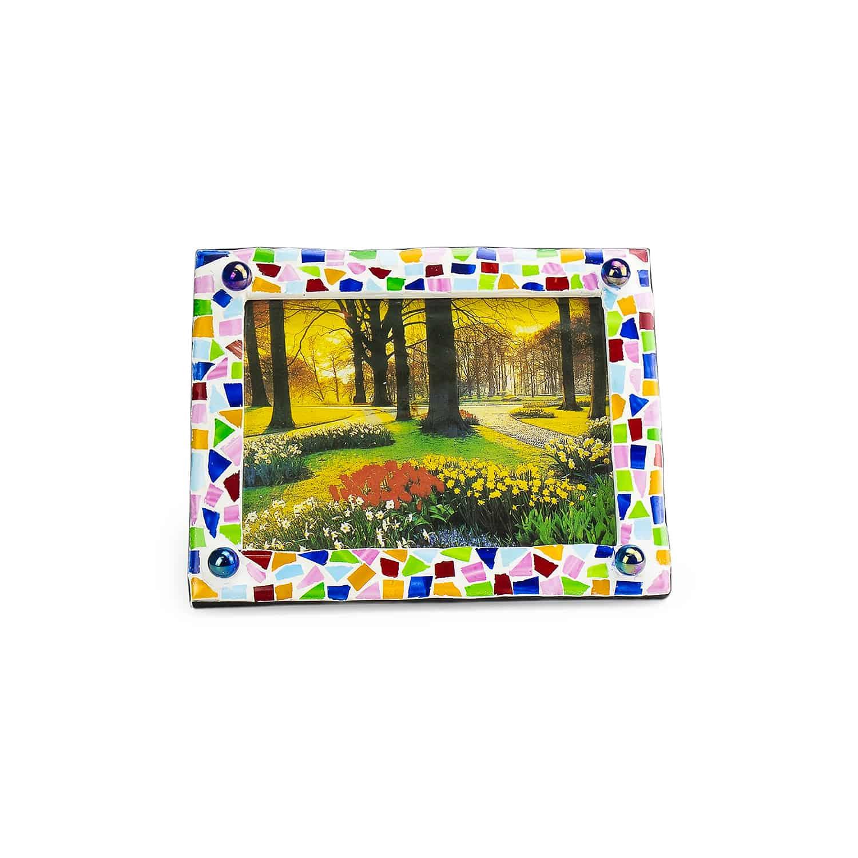 กรอบรูปโมเสก Mosaic photo frame