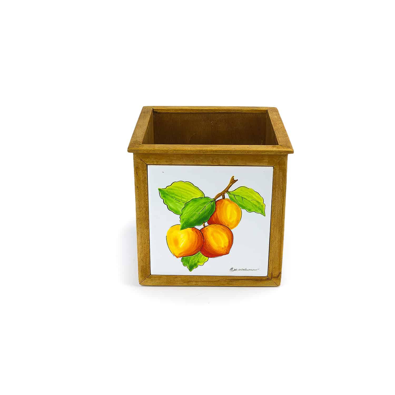 กล่องทิชชู  Tissue box Box tile handpainted