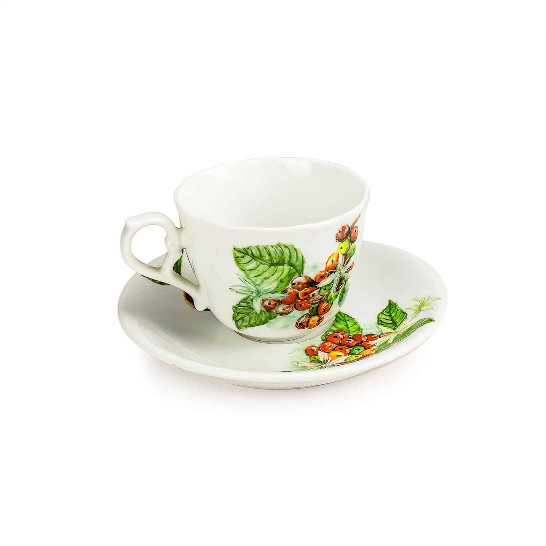 ชุดแก้วกาแฟแฮนด์เพ้นท์ Ceramic coffee cup set