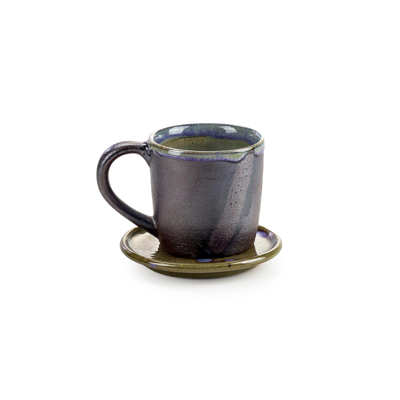ชุดกาแฟเคลือบด้าน