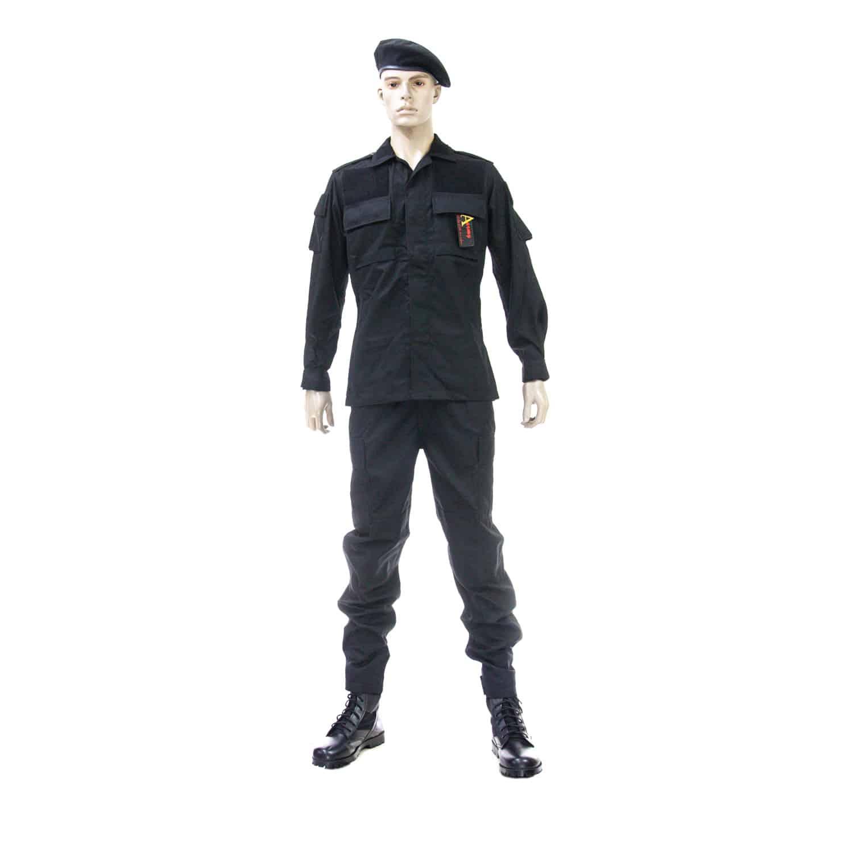 ชุดเวสปะ รุ่น 11 ผ้า 909 สีดำ