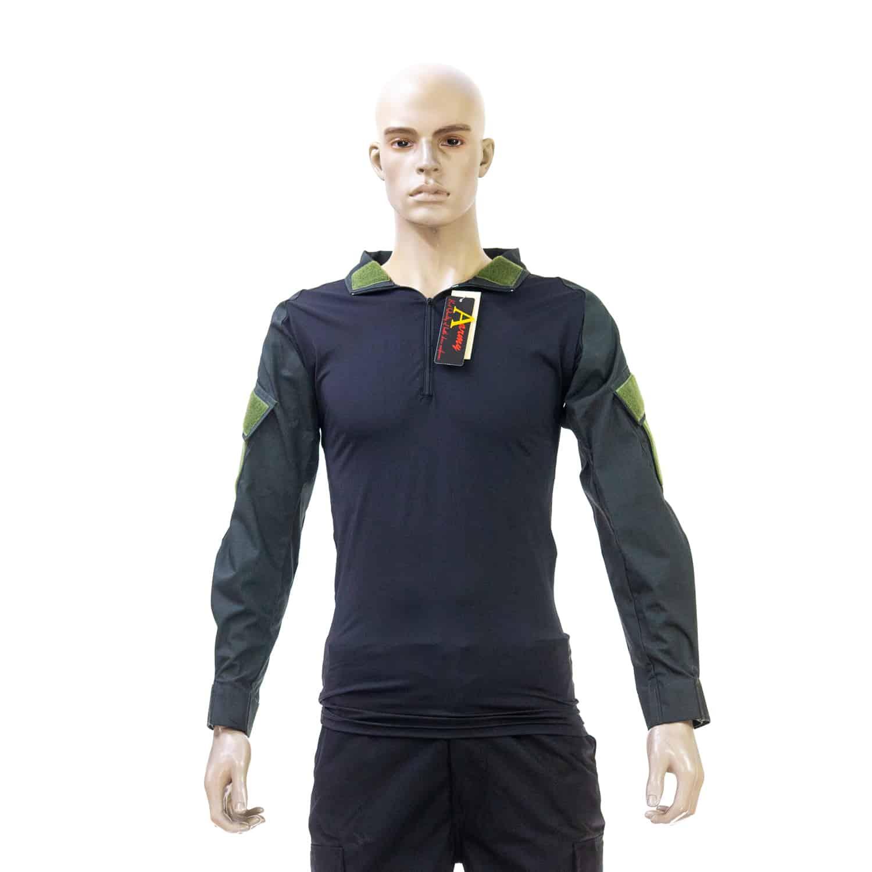 เสื้อ Spandex ดำ กันลมเขียว