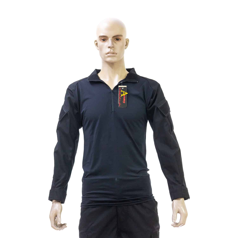 เสื้อ Spandex ดำ สิงห์ดำ